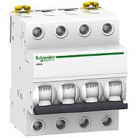 Автоматический выключатель iK60 4 полюса 40 ампер Schneider Electric (Шнайдер) Acti 9