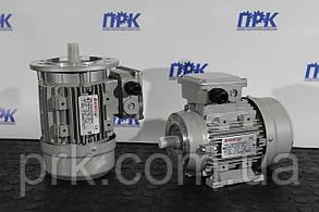 Электродвигатель трехфазный асинхроный T56B4 0,09 кВт 1400 об./мин.