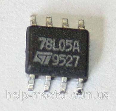 Микросхема L78L05ACD13TR (SO-8)