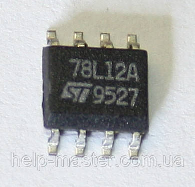 Микросхема L78L12ACD13TR (SO-8)