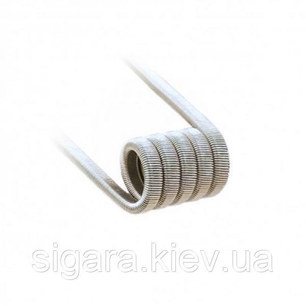 Спираль Tripple Fused Clapton  3*0.32 KA1/1*0,1 Nichr 5 вит. ID 3  0,40 Ohm