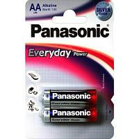 Батарейка AA Panasonic EveryDay Power Alkaline блістер (2шт) (LR6REE/2BR)