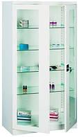Шкаф медицинский с переставными полками для лекарств, расходных материалов