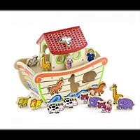Игрушка-сортер Viga Toys Ноев ковчег (50345)
