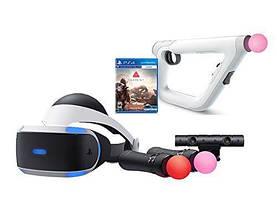 Очки виртуальной реальности, контроллеры движения (Camera, Move, Aim) для Sony