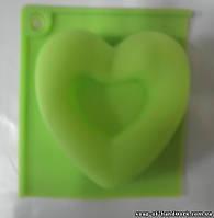 Форма для мыла Воздушное сердце