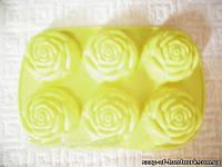 Форма для мыла Планшет Розочек