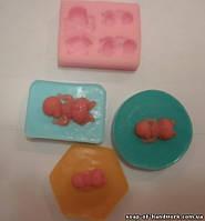 Форма для мыла Дети молд