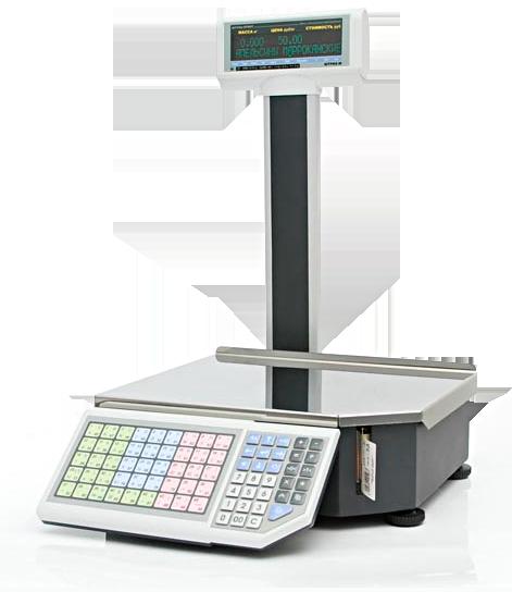 Весы с печатью этикетки Штрих-ПРИНТ M  v. 4.5