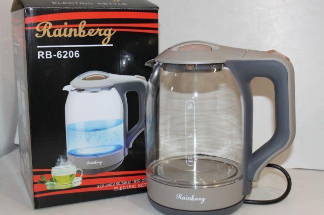 Чайник стеклянный RainBerg RB-6206