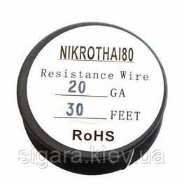 Проволока Нихром (NiCr8020) 20GA 10м