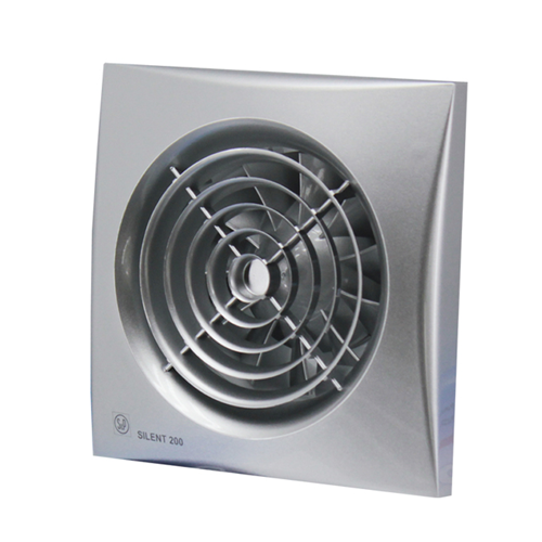 Вытяжной вентилятор Soler&Palau SILENT-100 CRZ SILVER