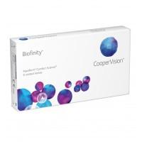 Контактные линзы на месяц Cooper Vision Biofinity уп.(3шт)