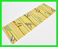 Джутовый коврик для йоги Yogamat (двухслойный, 3 мм, джут, каучук, цвет - желтый)