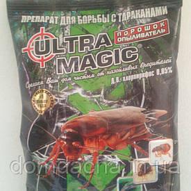 Инсектицид,Средство от тараканов Ультра магик порошок, 125г