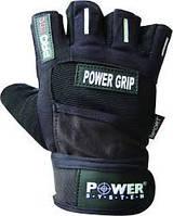 Перчатки атлетические мужские POWER GRIP р. M, L