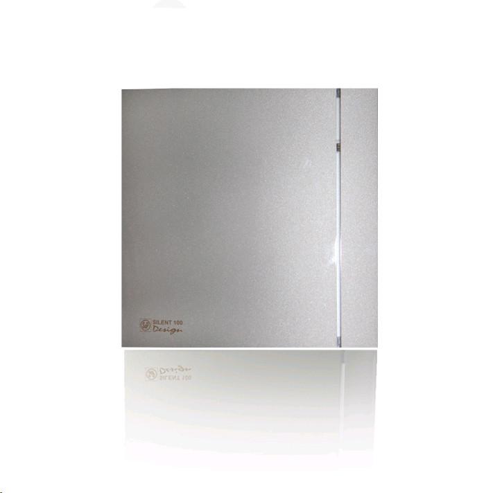 Витяжний вентилятор Soler&Palau SILENT-100 CRZ SILVER DESIGN - 3C