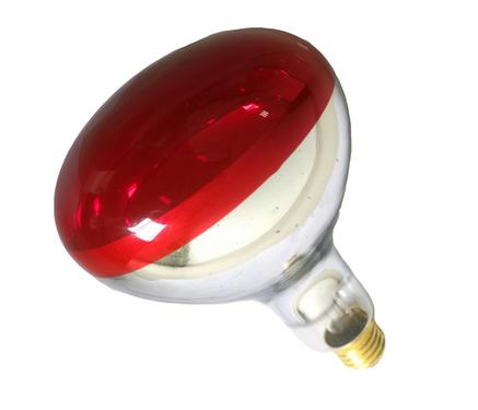 Инфракрасная лампа для обогрева E27 250Вт Flash зеркальная, фото 2