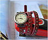 Винтажные часы браслет JQ retro red, фото 5