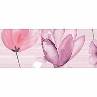 Декор Golden Tile Flora 1В5331 20*50 розовый