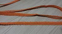 Оранжевая шубная лента