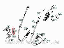 Тяга кулисы КПП (длинная) на Фольксваген Крафтер 2.5TDI 2006-> TRUCKTEC AUTOMOTIVE (Турция) 0224013