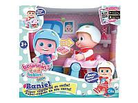 Кукла Baniel с машинкой Bouncin Babies 801001