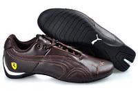 5d1de3c27f53fc Мужские кроссовки Puma Ferrari Low All Brown размер 42 (Ua_Drop_116772-42)