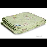 Одеяло Руно шерстяное стеганое 140х105 (овечья, 160 гр/м.кв) 320.02ШКУ, фото 1