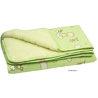 Одеяло-плед Руно стеганое (овчина + бязь), 140х105 (320ОУ)