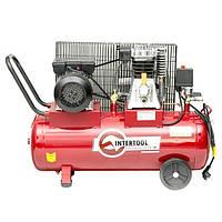 Компрессор воздушный INTERTOOL PT-0011 (1.8 кВт, 233 л/мин, 50 л)