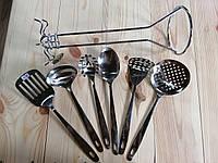 Набор кухонных принадлежносте с подставкой