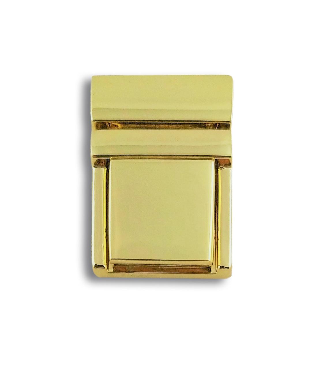Барсеточный замок 20мм/27мм. (2404) золото