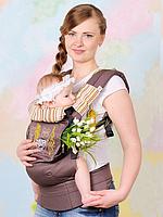 """Эрго рюкзак """"My baby"""" коричневый"""
