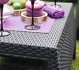 Комплект садових меблів зі штучного ротангу BAHAMAS RELAX темно-коричневий (Keter), фото 9