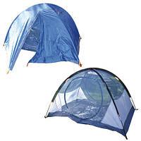 """Палатка туристическая """"Summer Fun"""" R17812 оранжевый, 2.1х1.4м, полиэстер, кэмпинговая палатка, палатка для отдыха"""