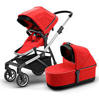 Коляска 2в1 Thule Sleek + Bassinet Energy Red TH11000009