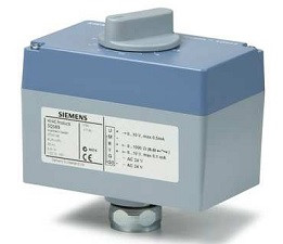 Siemens SQS35.03 электромоторный привод для клапанов