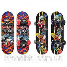 Скейт (скейтборд) детский деревянный для трюков 43х13см Profi (MS 0324-1), фото 2