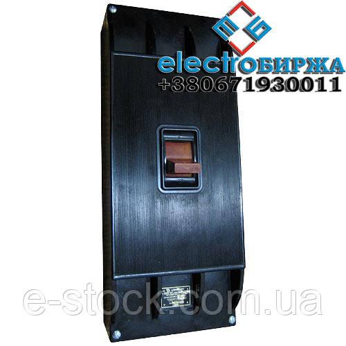 Автоматический выключатель А-3144 600А