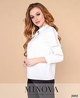 Стильная блуза в двух расцветках  Р50364098