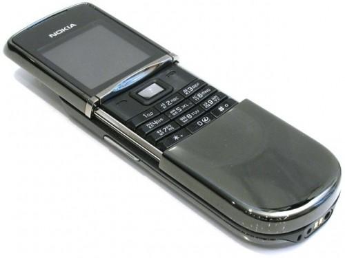 61e130ad833a7 Мобильный телефон Nokia 8800 Sirocco Edition Dark - UA Ucrf - New ...