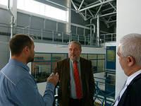 Фидель Кастро младший посетил  фабрику SFM в Новосибирске.