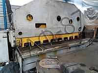 Рубка на гильотине до 2500 мм в ширину и толщиной до 4 мм