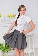 Школьная юбка в складку, фото 1