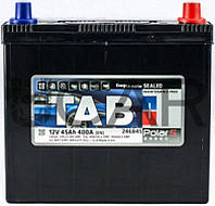 TAB Polar S 45 Ah 400 A аккумулятор (-+, R) Asia 46B24LS, 2019 год (246845(S45JA))