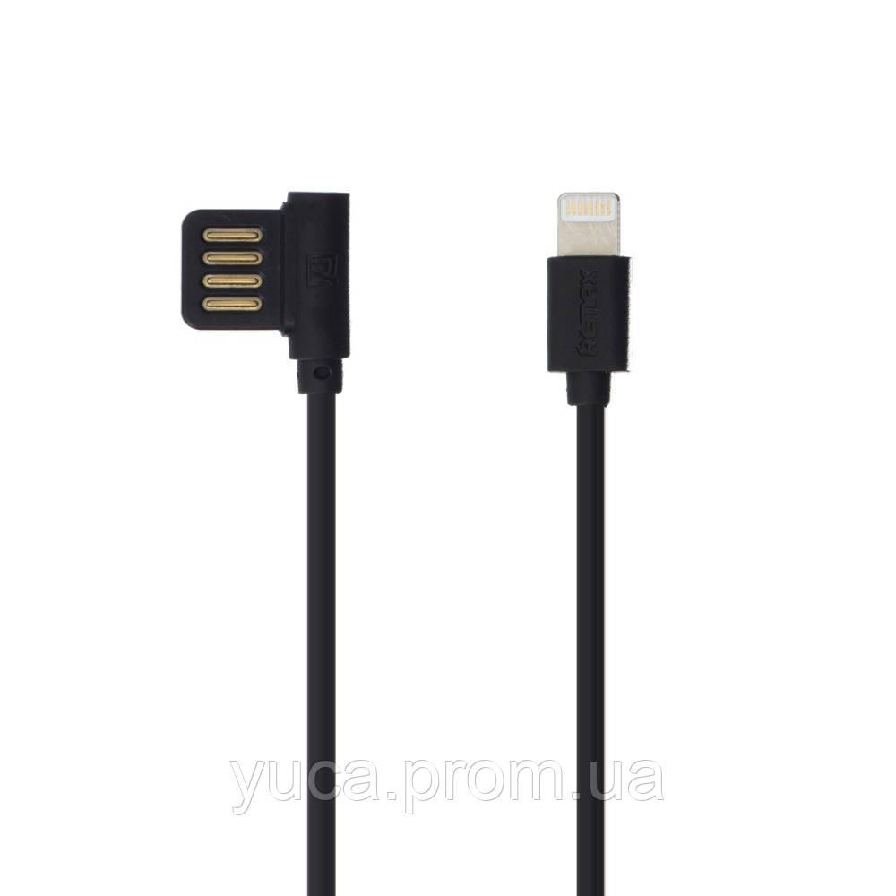 Кабель USB Remax Lightning Rayen RC-075i 1м чёрный