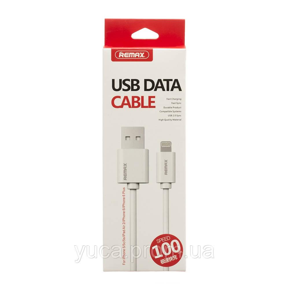 Кабель USB Remax Lightning RC-007i Fast Charging белый