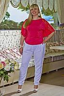 Приятное чувство комфорта создают льняные брюки в жаркую погоду