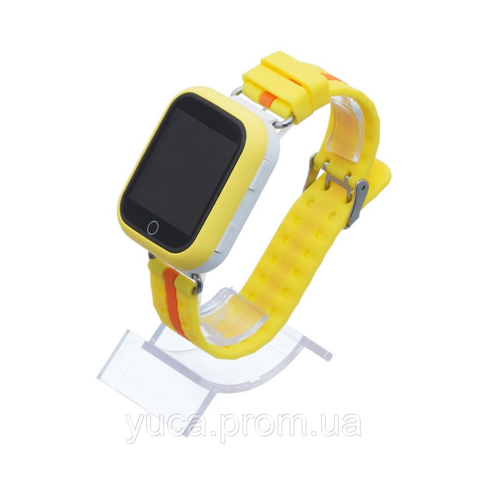 Детские смарт часы  Q100 GPS+Wi-Fi (Жёлтый)